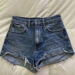 """Lucky """"pins"""" jean short"""